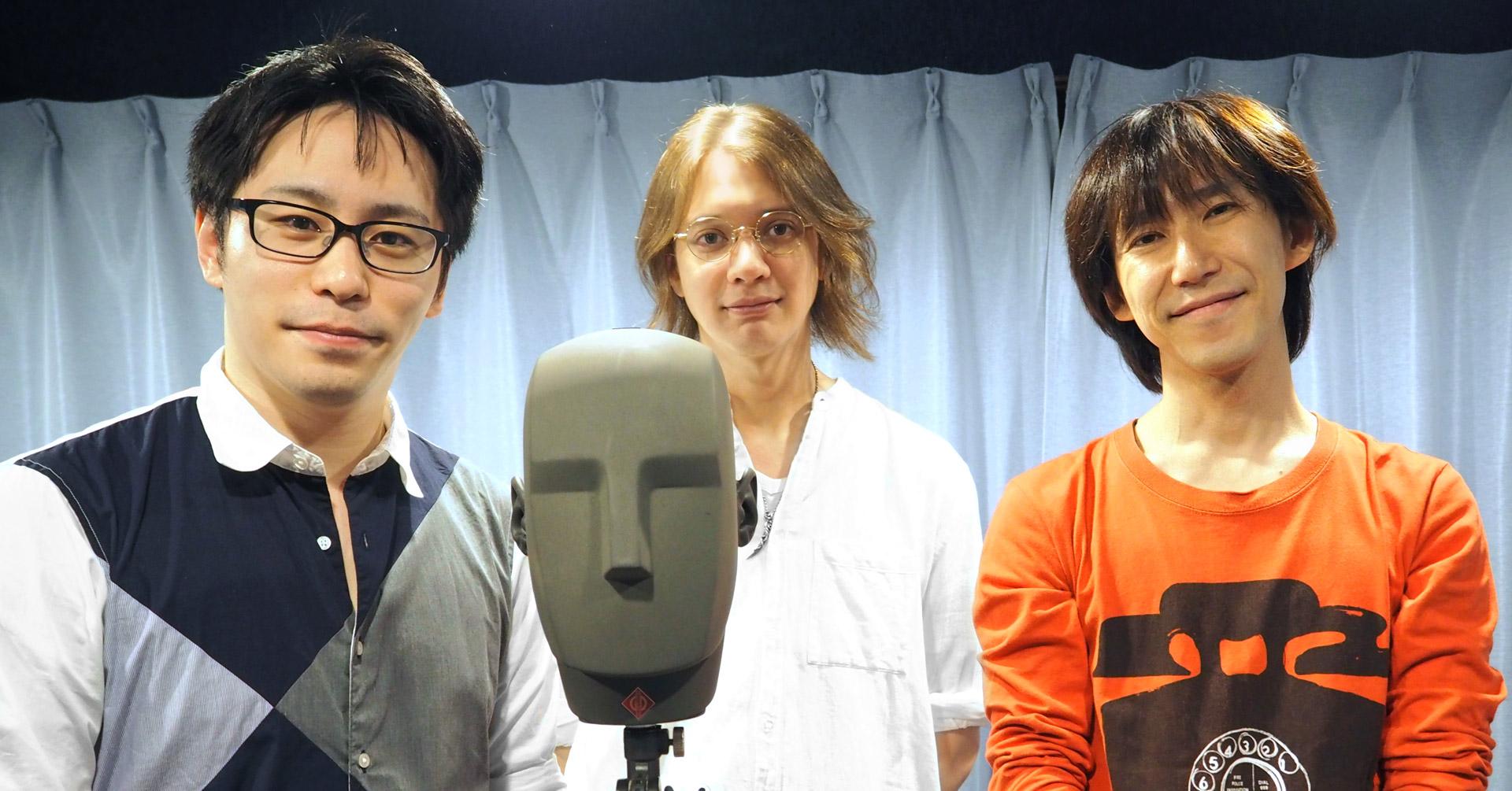 平川大輔さんとともに、出演者の九埜りゅうまさん、パディ・ライアンさん